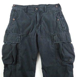 Polo Ralph Lauren 33x32 Cargo Military Pants Loose
